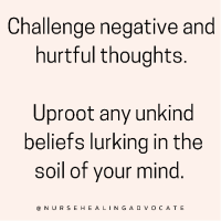 How to find freedom from negative thoughts…
